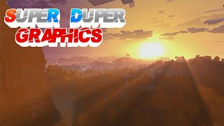 Minecraft Super Duper Graphics Pack DLC. กำลังจะมาแบ้วว