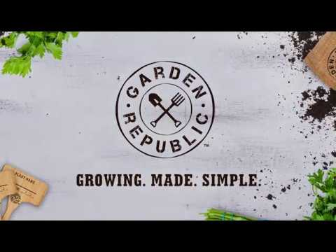 Garden Republic Indoor Herb Garden Starter Kit Instructional Video