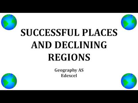 Successful places - regeneration - a level geography