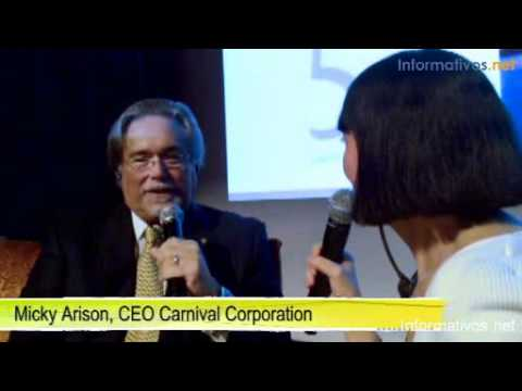 Interview Micky Arison, CEO Carnival Corporation (English)