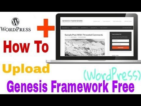 How to Uploade Free Genesis Framework Theme In Wordpress In Hindi | Part-1