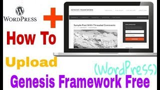 How to Uploade Free Genesis Framework Theme In Wordpress In Hindi | Part-1