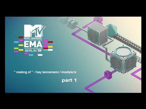 "MTV EMA 09 ""making of"" part I (german)"