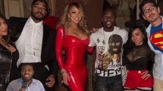 T.I. Wife Tiny Takes A Picture With FLOYD MAYWEATHER Despite Feud With T.I., Where Dey At DOE?