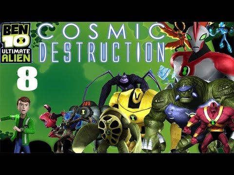 Let's Play Ben 10 Ultimate Alien: Cosmic Destruction #8 - Claytime's Over Travel Video