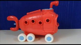 Ônibus do Bob Esponja Brinquedos Fenda do biquini - Bikini Bottom Bus Spongebob Squarepants Patrick