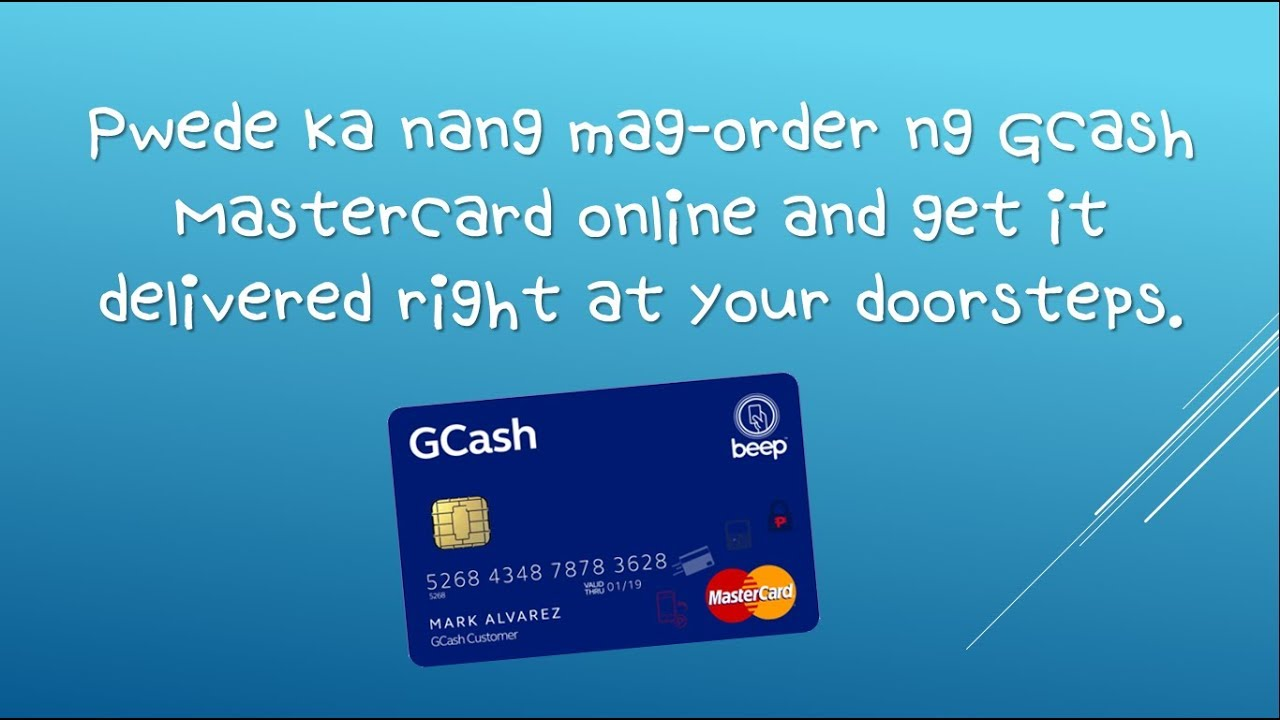 GCASH TUTORIAL #6: Order your GCash Mastercard NOW! FREE Delivery!!