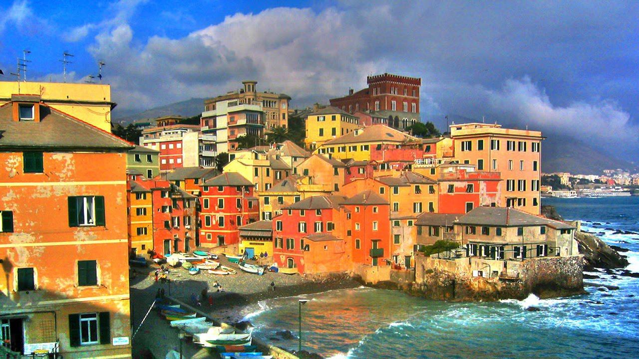 principais cidades da Itália genova