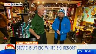 The TODAY Show Visits Dizzy's Ski Shop!
