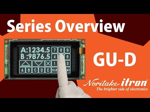 Noritake VFD: GU-D Series Overview