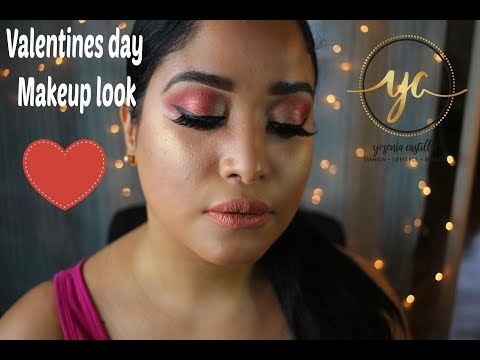 Valentine's day eye look tutorial | Itsmyrayeraye pallate thumbnail