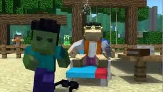 Minecraft - Gangnam Style ( Official Music Video )