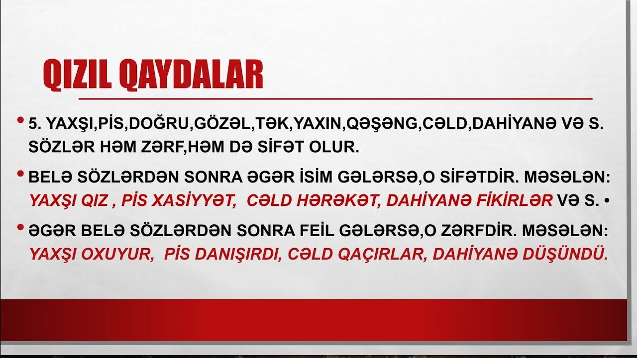 Azərbaycan dili 7-ci sinif (səh 156-158) . \
