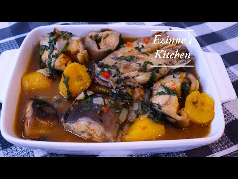 How To Make Catfish Pepper Soup| Point And Kill|Ukodo Recipe. Nigerian Pepper Soup.