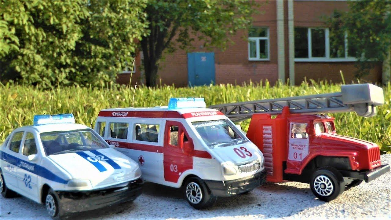 Машинки для детей Распаковка Игрушек Технопарк спецтехника Игрушки для мальчиков