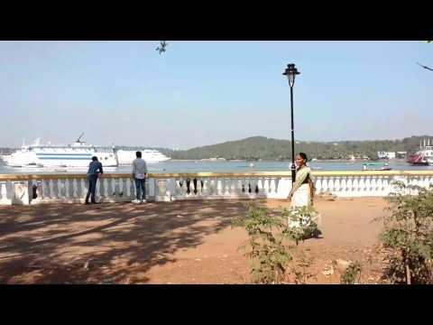 Cruise at Panjim, Goa