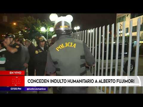 América Noticias:  PPK concedió el indulto humanitario a Alberto Fujimori