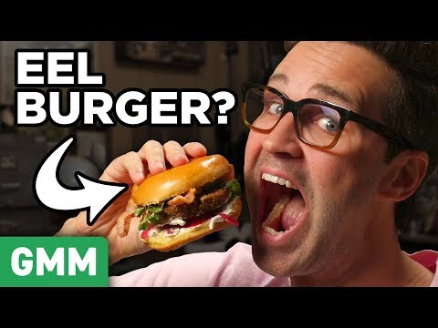 Shake Shack Eel Burger Taste Test