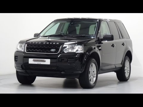 land rover freelander 2 2 2 td4 black white special edition finished in santorini black youtube. Black Bedroom Furniture Sets. Home Design Ideas