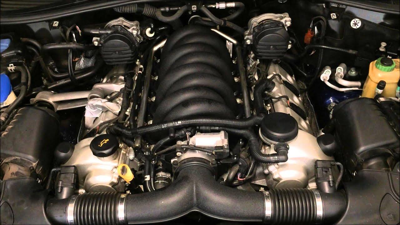 Porsche 4.5L V8 Motor - YouTube