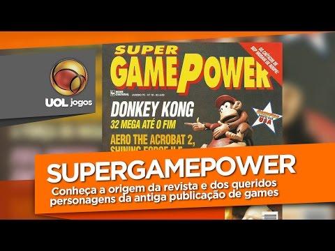 História das revistas de videogame: SuperGamePower