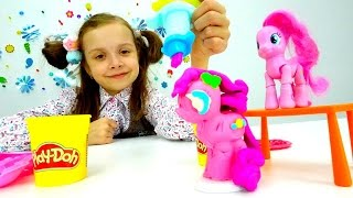 Пинки Пай из пластилина ПлейДо - Игрушки для девочек