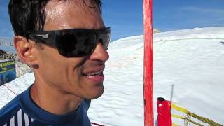 Raul Penso on his bad first night out on the Red Bull X-Alps 2013, Cross Country magazine