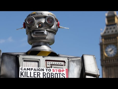 """Ban Killer Robots!"" - Amnesty International Slams Terminators"