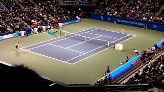 ドリームテニス有明2013 松岡修造vs国枝慎吾.