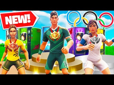 *NEW* FORTNITE PLAYGROUND OLYMPICS In Fortnite Battle Royale! Ft. Lazarbeam, Vikkstar123 & Toast