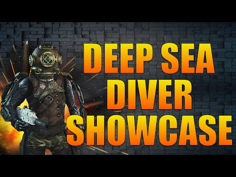 Call of Duty Advanced Warfare: DEEP SEA DIVER HELMET SHOWCASE! (COD:AW DLC LOADOUTS)