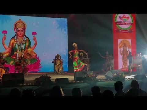Anusha Vangala - AsthaLaxmi Dance - NRIVA 4th Global Convention at NJ Convention Center