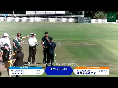 Over 50s Cricket World Cup | South Africa Vs England
