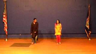 SUNYIT student dance on dil vich lagiya ve and Jhoom barabar Jhoom