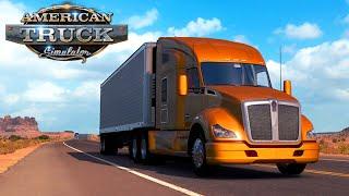 American Truck Simulator - A PRIMEIRA VIAGEM + G27! #01