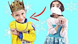 الحرامي يخطف الأميرة وياخذ مجوهراتها ...!