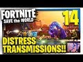 DISTRESS TRANSMISSIONS Fortnite Save The World Multiplayer Gameplay Let 39 S Play E14 mp3