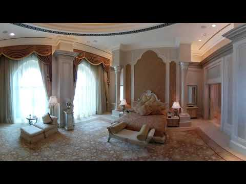 Emirates Palace - Palace Suite 360 Camera, (a 26,000 AED per night Suite)