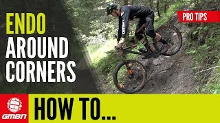 How To Endo Around A Switchback | Essential MTB Skills