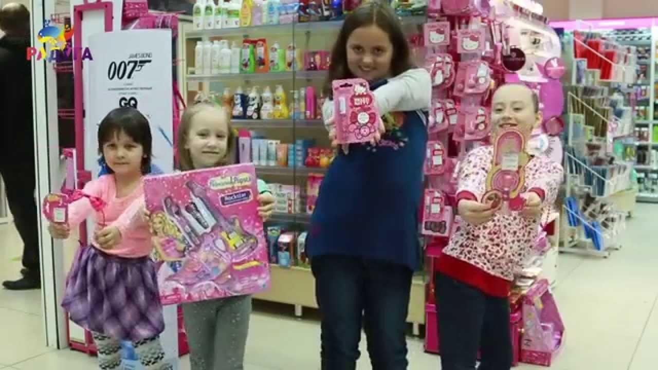 Смотреть видео косметика детская