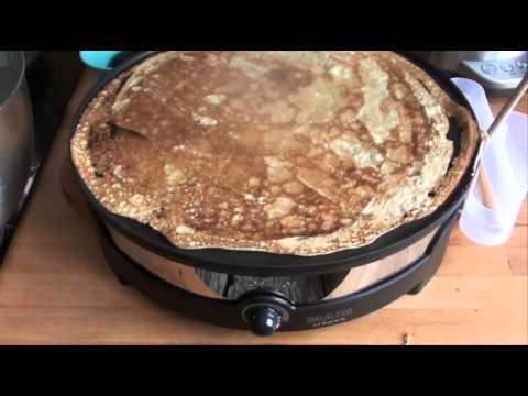 test : crêpière électrique maxi crêpes lagrange - youtube