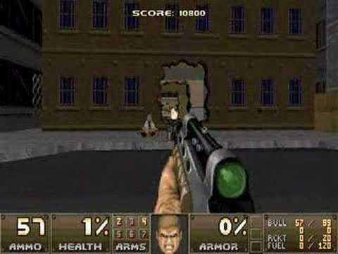 Action Doom Level 01 - Streets