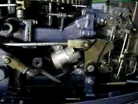 Evinrude 25 Hp >> 1973 Evinrude 50 HP - YouTube