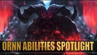 ORNN ABILITIES CHAMPION SPOTLIGHT | League of Legends