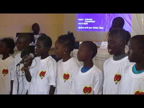 MAMELLES JABOOT, Prestation Des écoliers De Wack-Ngouna