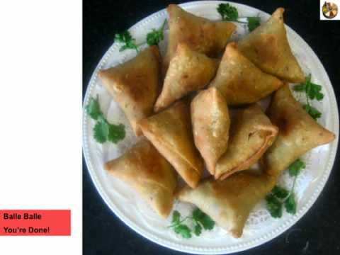 Easy Vegetable Samosa Recipe - YouTube