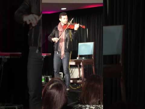 David Alpay playing Violin TVDDC 2016