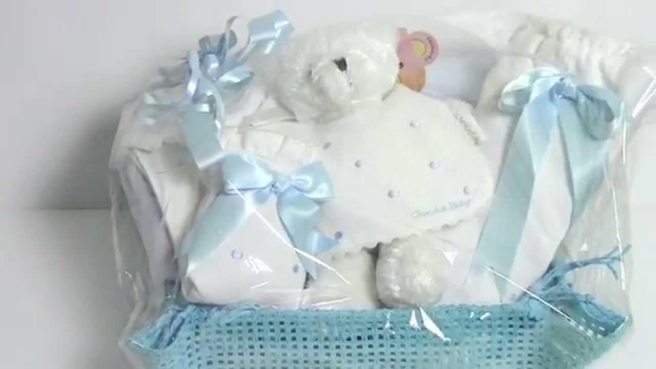 Detalles bautizo bebito niño - YouTube