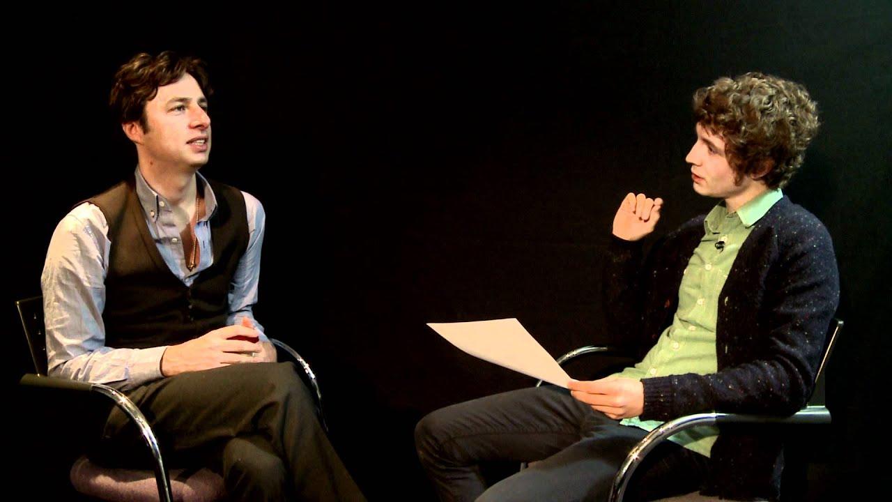 Zach Braff Wikipedia Interview With BBC Radio 1's Matt Edmondson