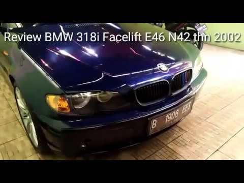 review bmw 318i facelift e46 n42 thn 2002 youtube. Black Bedroom Furniture Sets. Home Design Ideas
